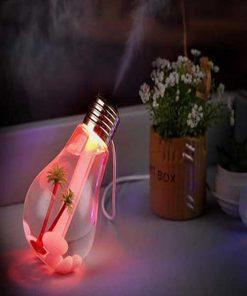 دستگاه بخور سرد طرح لامپ Lamp Design Humidifier with Mini USB
