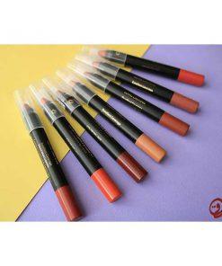 رژ مدادی مات گلدن هوگر Golden Huger Long Lasting Pencil Matt Lipstick