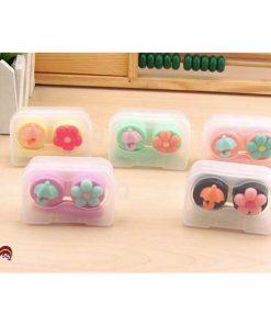 پک لنز کامل فانتزی چتر و گل Eyecontact Cute Flower Umbrella Pack Plastic