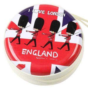 کیف هندزفری طرح سرباز انگلیسی England Soldier Design Coin, Keychain, Handsfree Bag