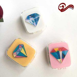 پک لنز کامل فانتزی الماس Eyecontact Cute Diamond Pack Plastic