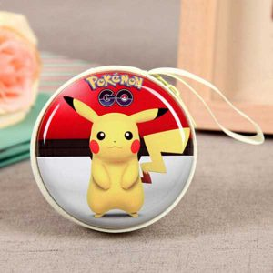 کیف هندزفری طرح پوکمن Pokemon Design Coin, Keychain, Handsfree Bag