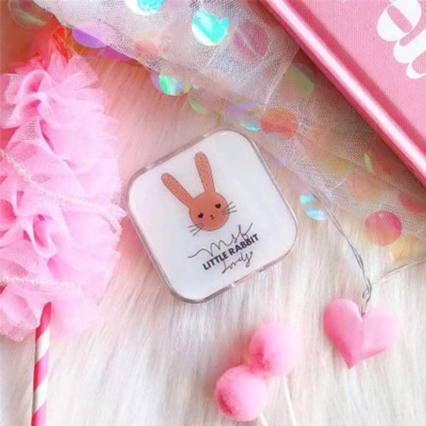 پک لنز کامل طرح فانتزی خرگوش Eyecontact Pack Rabbit Plastic