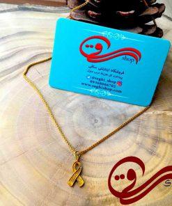 گردنبند نماد حمایت از حیوانات استیل رنگ ثابت Women's Necklace