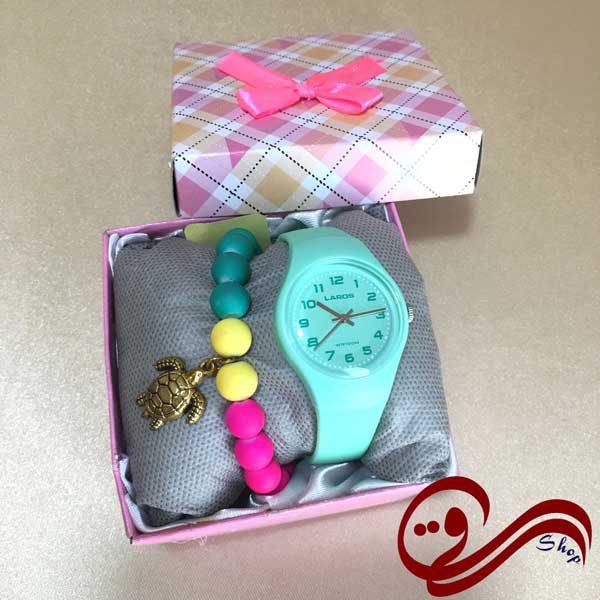 دستبند دخترانه لاکپشت خمیری شب نما Girl's Bracelet