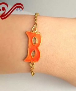 دستبند دخترانه زنجیر نقاب Girl's Bracelet