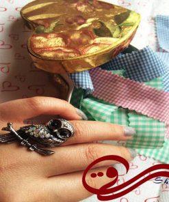 انگشتر زنانه جغد Women owl ring
