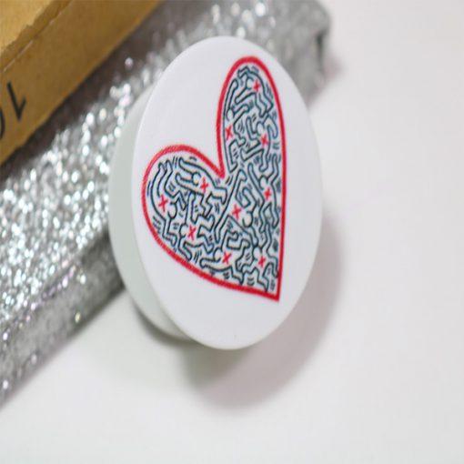 پاپ سوکت قلب مارپیچ Heart PopSocket