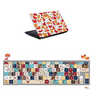 اسکین و برچسب کیبورد لپ تاپ