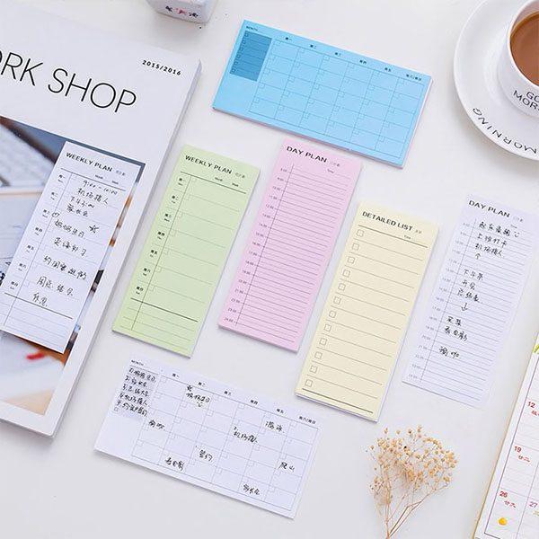 یادداشت برنامه ریزی روزانه هفتگی ماهانه