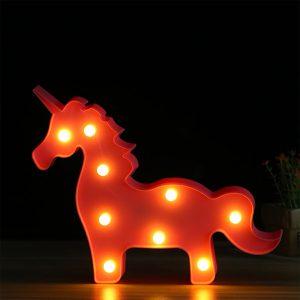 چراغ خواب کودک اسب تکشاخ