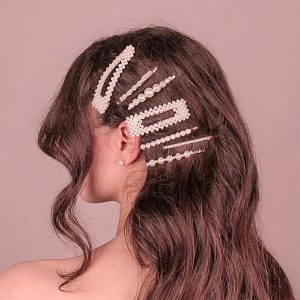سنجاق سر مرواریدی Pearl Hair Clips