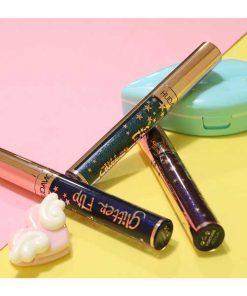 رژلب جادویی گیلتر اکلیلی فلیپ Glitter lipstick flip