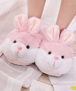 پاپوش حوله ای زمستونه خرگوشی Rabbit slipper