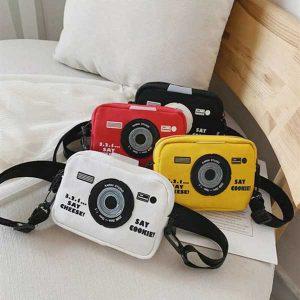 کیف کج کتان دوربین عکاسی Camera Small Bag
