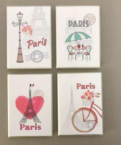 دفتر یادداشت کوچک پاریس و میوه