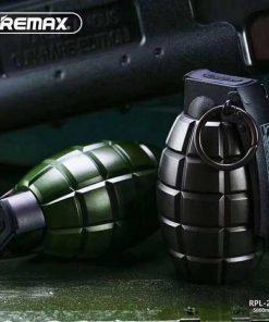 پاوربانک 5000 میلی آمپر ریمکس طرح نارنجک REMAX Grenade Power Bank 5000mAh RPL-28