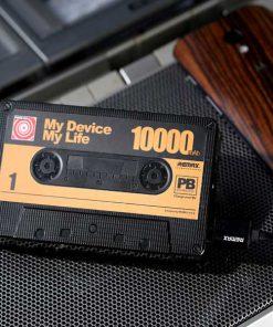 پاوربانک 10000 میلی آمپر طرح نوار کاست ریمکس Remax Tape 10000 mAh PowerBank