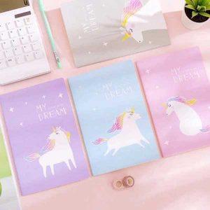 دفتر خط دار 30 برگ یونیکورن Unicorn Note book