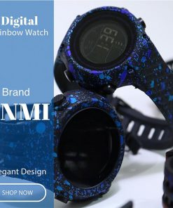 ساعت دیجیتالی رنگین کمانی برند Bnmi