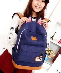 کوله پشتی کتان پنجه سگ Dog Claw linen backpack