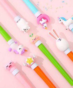 روان نویس سر حیوانات چراغدار Animal Lighted pen
