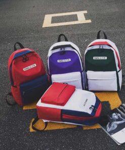 کوله پشتی کتان Hello .U.Y.K Flax backpack