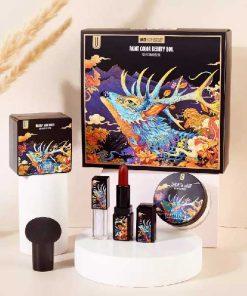 باکس 5 تیکه آرایشی اورجینال برند Complete original cosmetic box Youliyoula