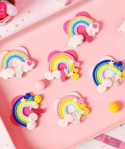 آویز برچسبی رنگین کمان وسایل Rainbow label Hanger