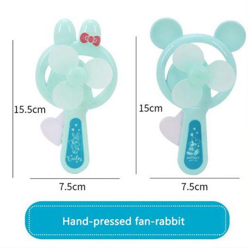 پنکه دستی فشاری طرح خرگوش
