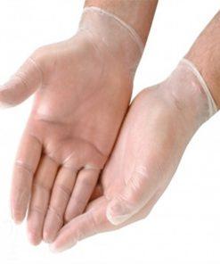 دستکش وینیل شیشه ای